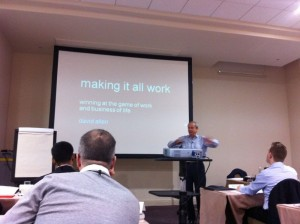 GTD Making it all Work med David Allen