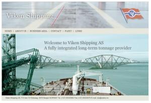 Viken Shipping nytt webdesign
