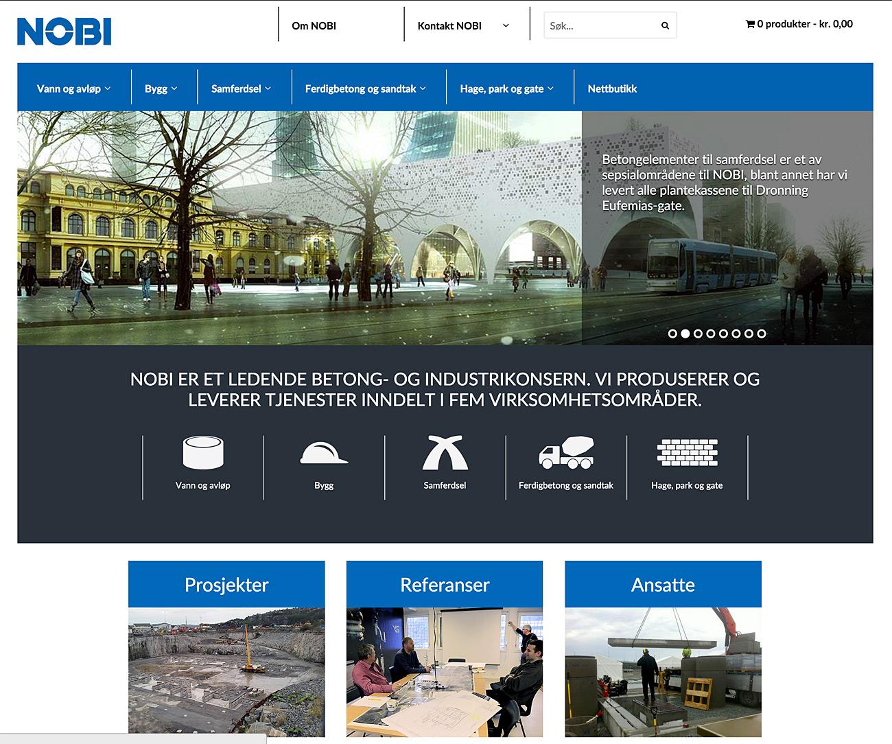 d696cb733 Nobi – Norsk betongindustri - Senson AS - WordPress / WooCommerce ...