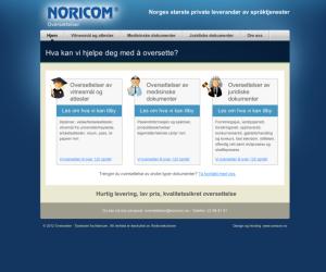 Oversetter. as / Noricom