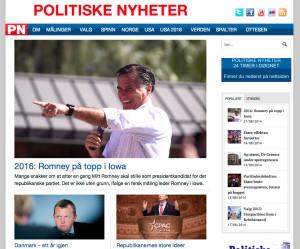 Politiske nyheter
